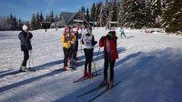 Kurz lyžování pro děti se opět vydařil