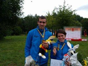 Kryštof Bogar vybojoval zlatou medaili na MS v MTBO
