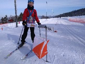 Lyžařský orientační běh na Olympijském festivalu v Mostech